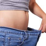 lose belly fat, jeans size